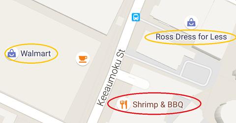 Shrimp&BBQの場所