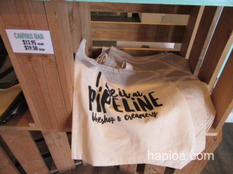 パイプラインのキャンバスバッグ