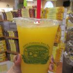 ドールプランテーションの100%パイナップルジュース