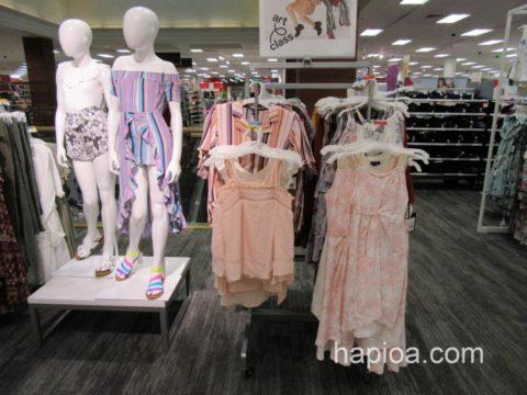 アラモアナセンターのターゲットの子供服